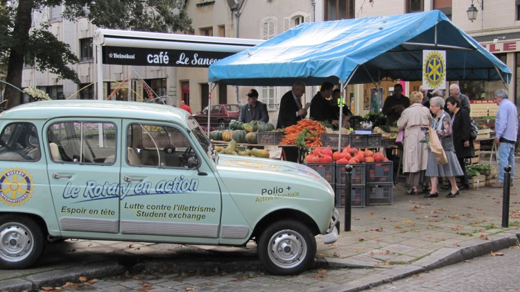 Fête de la citrouille à Bourges