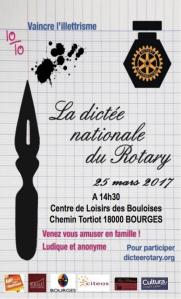 Dictée du Rotary 2017